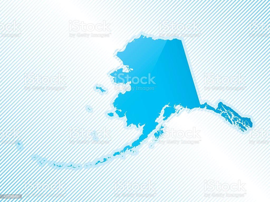 Highly detailed map of Alaska royalty-free highly detailed map of alaska stock vector art & more images of alaska - us state