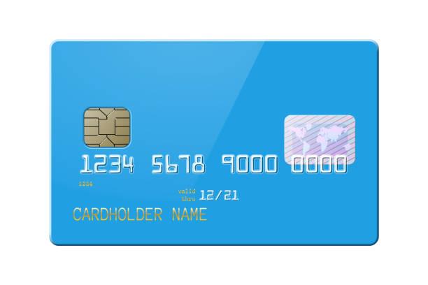 非常に詳細な現実的な光沢のあるクレジット カード - クレジットカード点のイラスト素材/クリップアート素材/マンガ素材/アイコン素材