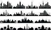 Highly Detailed Skylines (Complete, Moveable Buildings)