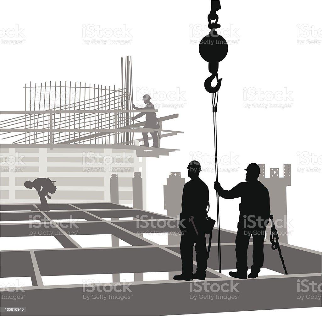Edificio de - ilustración de arte vectorial