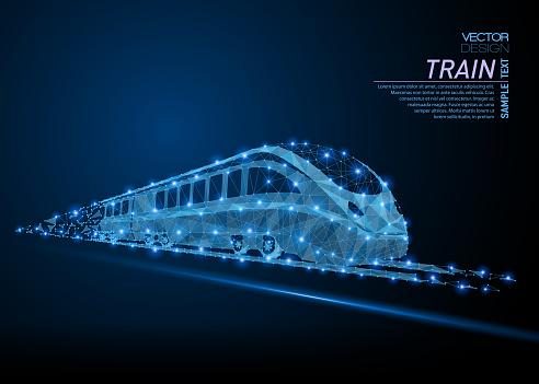 High-speed commuter passenger train