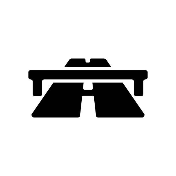 ilustraciones, imágenes clip art, dibujos animados e iconos de stock de icono de la - señalización vial