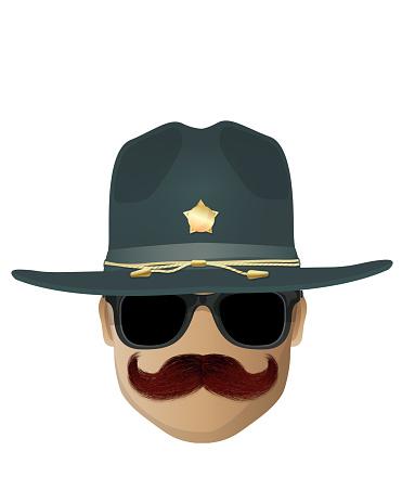 Highway policeman avatar