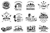 Hiking club badge