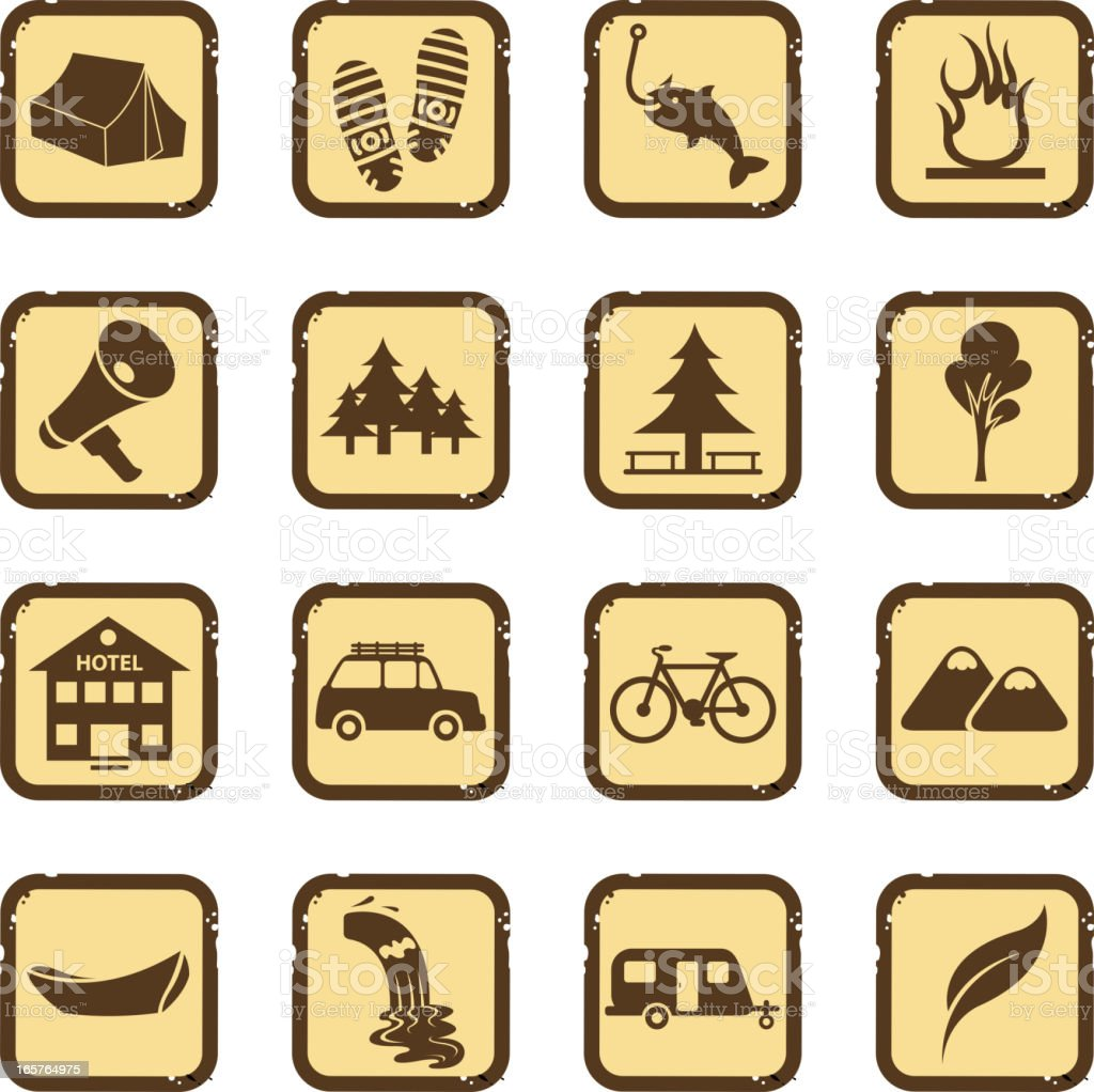 hiking set royalty-free hiking set stock vector art & more images of advice
