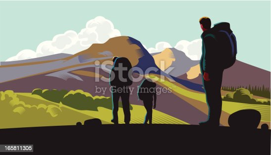 istock Hill walkers 165811305