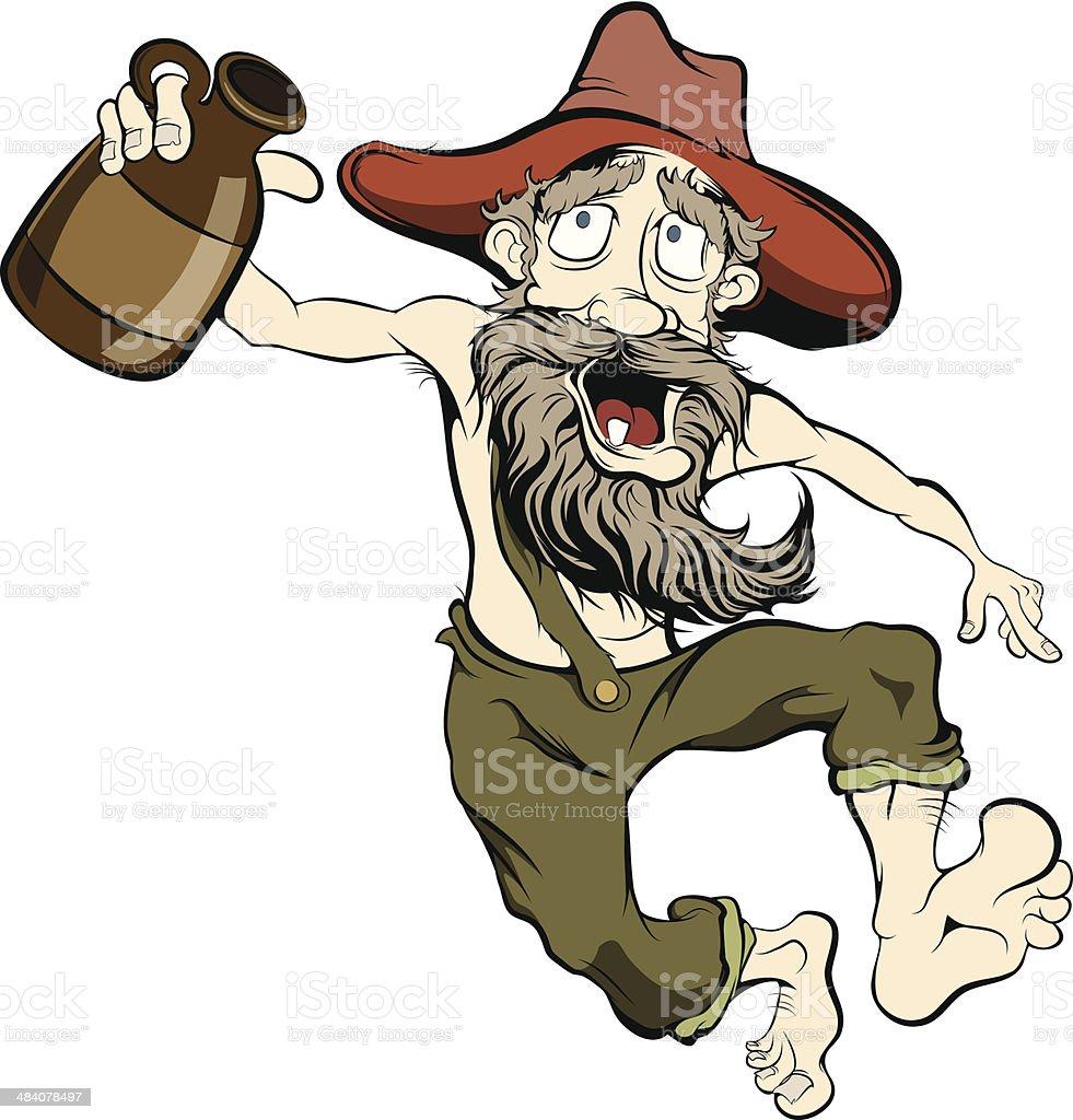 royalty free hillbilly clip art vector images illustrations istock rh istockphoto com hillbilly moonshine clipart hillbilly moonshine clipart