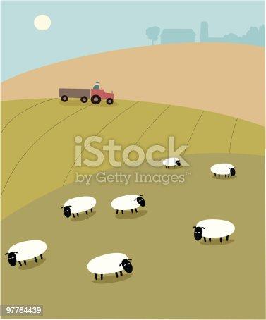 istock Hilly Farm 97764439