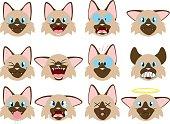 Himalayan Cat Emojis