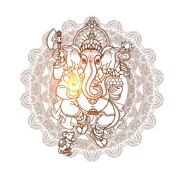 Ganesha Vector Art Graphics Freevector Com
