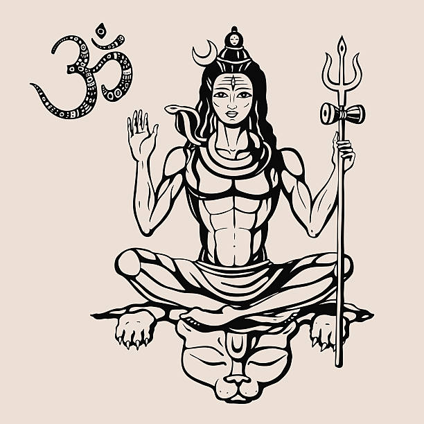 Best Shiva Illustrations, Royalty-Free Vector Graphics ...