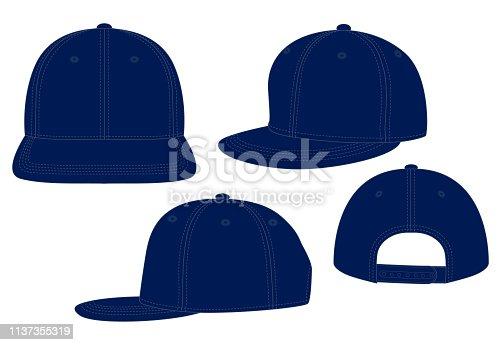 Hip Hop Cap for Template