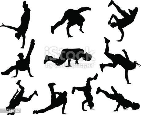 Dancer Clipart Break Dancing - Break Dance - Png Download - Full Size  Clipart (#726566) - PinClipart