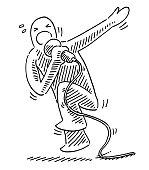 istock Hip Hop Singer Drawing 1272807264