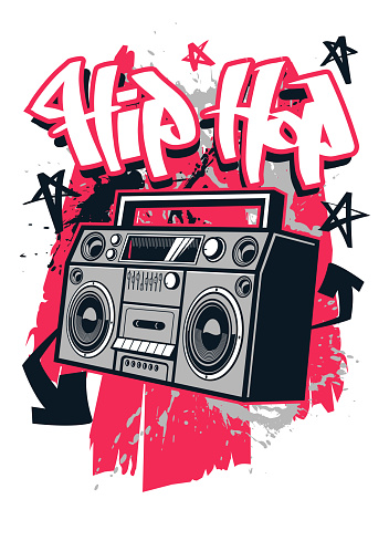 Hip Hop style t shirt design