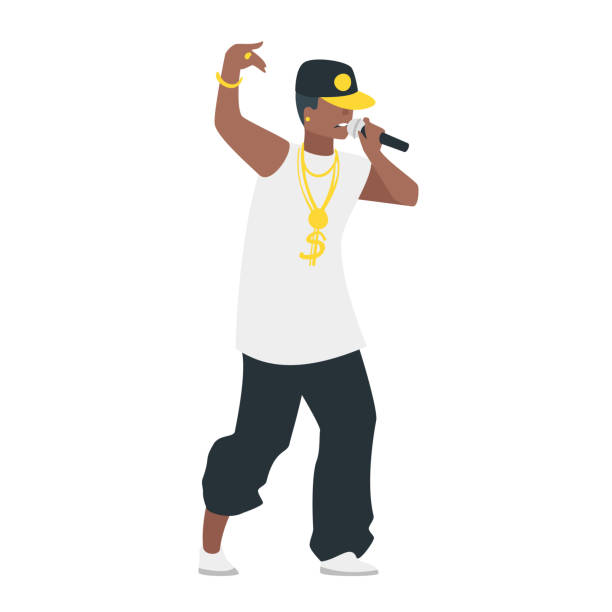 rap artist vector art & graphics | freevector.com  free vector
