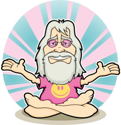 Hippie Guru groovy Shades