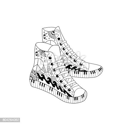 Sneakers Istock Set Classic Icons Icon 596056612 BWdCxore