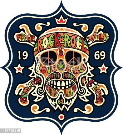 istock hippie skull 451795115