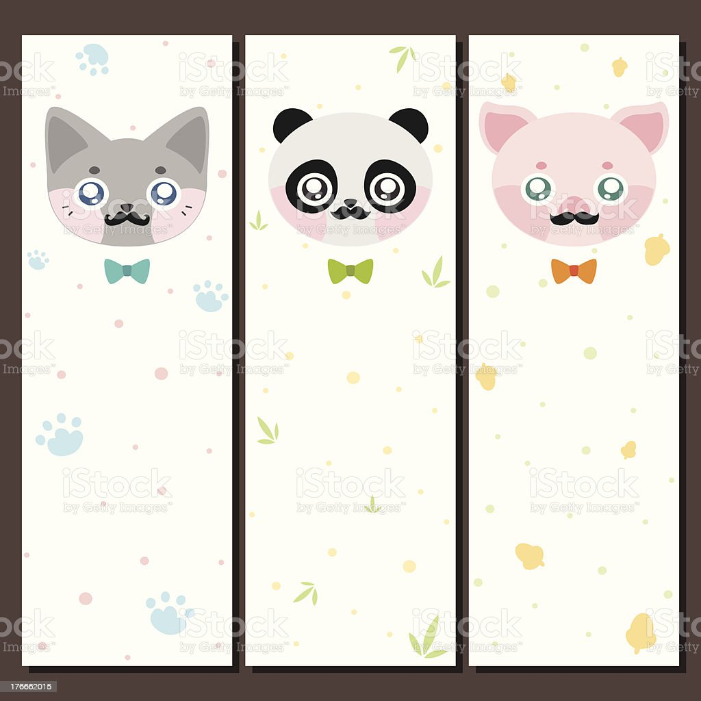 Hipster animal, banner royalty-free hipster animal banner stock vector art & more images of acorn