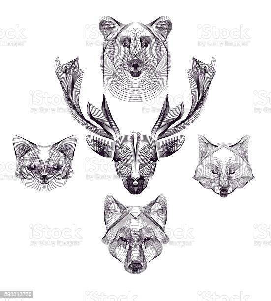 Hipster animal head vector id593313730?b=1&k=6&m=593313730&s=612x612&h=knbppygcakrcqpzw2ejue8ruewy ubeoofezv2r5pts=