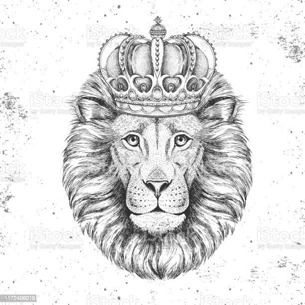 Hipster animal lion in crown hand drawing muzzle of lion vector id1172406019?b=1&k=6&m=1172406019&s=612x612&h=pwntml48ugucrbbjzhgubhscyriyofluk9afmgwezqa=