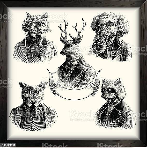 Hipster animals set vector id464493498?b=1&k=6&m=464493498&s=612x612&h=ez7xfh3jutr ro2gckhzhhsmimlhionfktjyt5kd8ko=