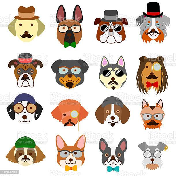 Hipster dogs faces with glasses vector id639415300?b=1&k=6&m=639415300&s=612x612&h=x64uuab3p5rvvxyxtrwlr200lllz9rl hsly1zzggpi=