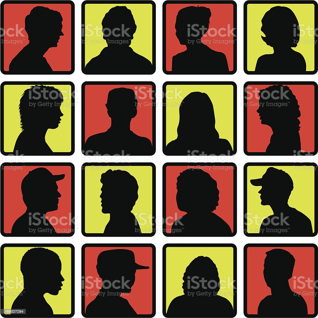 Hipster Mystery Contestants ( Vector ) royalty-free hipster mystery contestants stock vector art & more images of adult