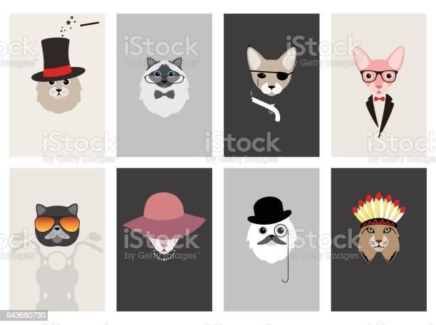 Hipster portrait of cat gentlemen cat vector id543680730?b=1&k=6&m=543680730&s=612x612&h=w7qf4icdqz pgczjc9d1qduqarvabkg4xierpfu4uz0=
