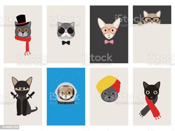 Hipster portrait of cat gentlemen cat vector id543680786?b=1&k=6&m=543680786&s=612x612&h=oyidbmjodtmcri8ztdpgdvdt2v9dlnpdpk 2u4jtbsc=