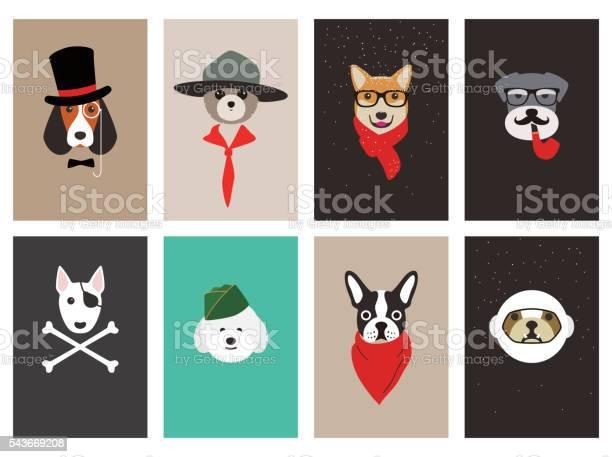 Hipster portrait of dog gentlemen dog vector id543669208?b=1&k=6&m=543669208&s=612x612&h=pbjefpdfns2suvrd9vyjbws7sxi7dovc12woi8qjgls=