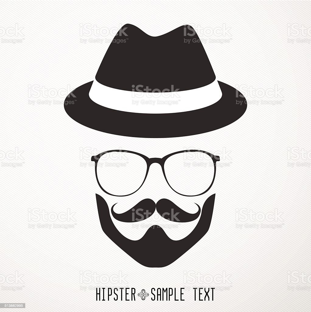 Hipster Retro Vintage Icon Set - Illustration vector art illustration