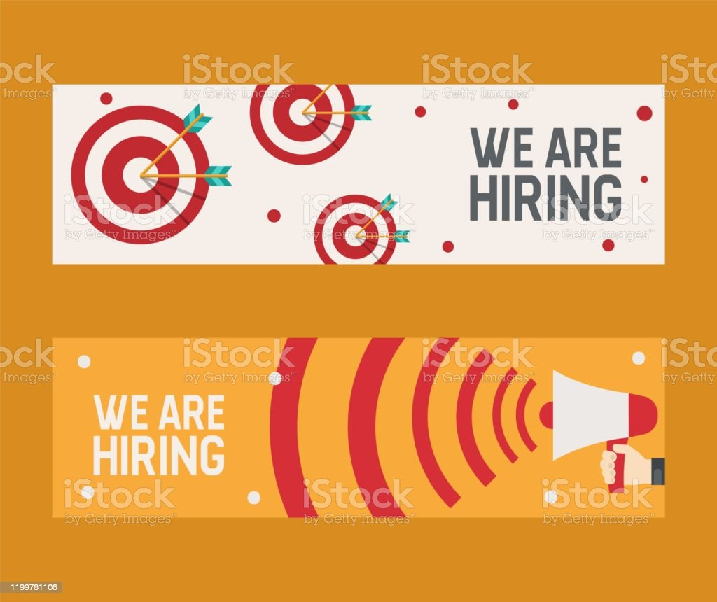 Hiring Recruitment Design Flyer We Are Hiring Banner Vector Illustration Open Vacancy Design Template Job Search Career Recruitment Occupation Career Concept Candidate Talent Find Stock Illustration Download Image Now Istock