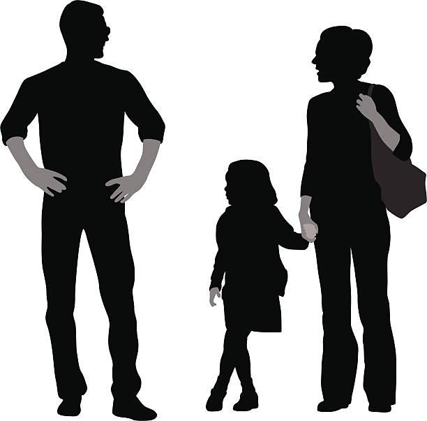 Royalty Free Dad Talk Clip Art, Vector Images ...