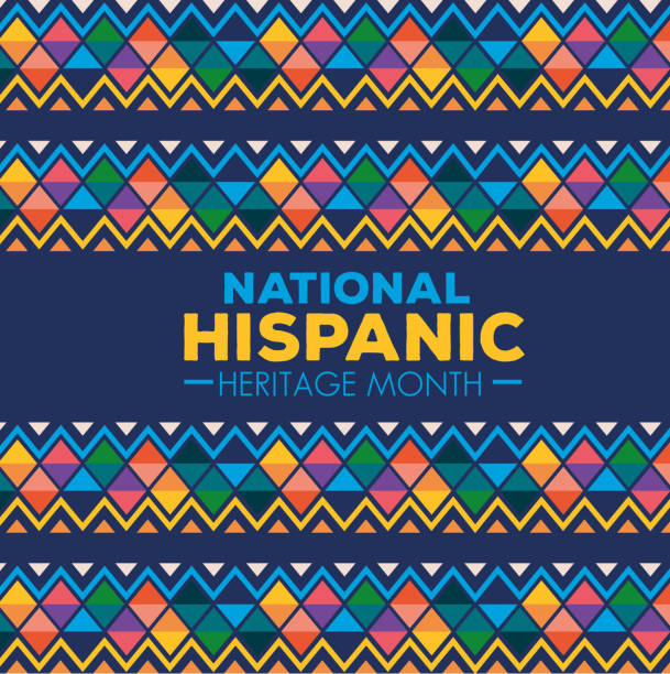 hispanic and latino americans culture, national hispanic heritage month in september and october hispanic and latino americans culture, national hispanic heritage month in september and october vector illustration design hispanic heritage month stock illustrations