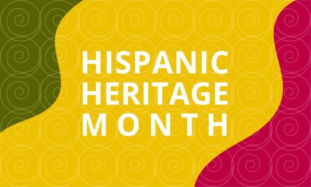 Hispanic Heritage Month background. Poster, card, banner Hispanic Heritage Month background. Poster, card, banner hispanic heritage month stock illustrations