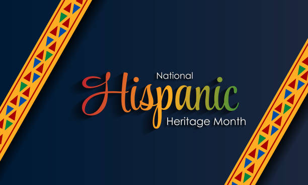 Hispanic National Heritage Month in September and October. Hispanic and Latino culture. Latin American patterns. Hispanic National Heritage Month in September and October. Hispanic and Latino culture. Latin American patterns. hispanic heritage month stock illustrations
