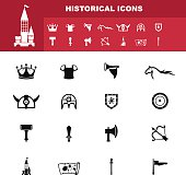 historical icon vector