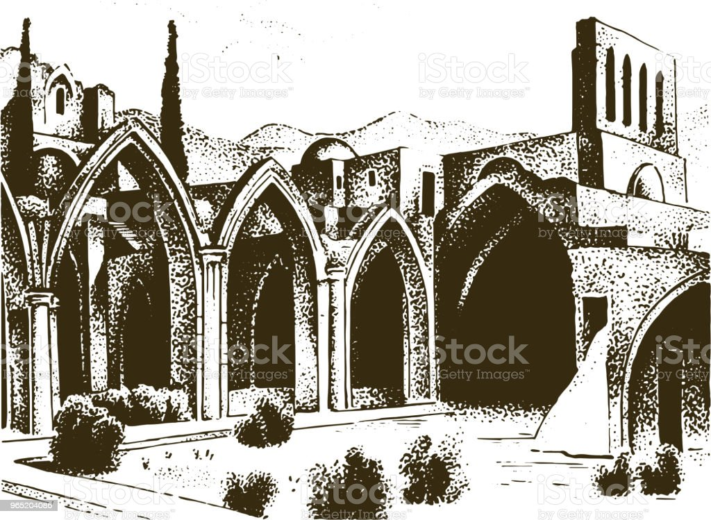 Historical old building. Facade in Verona of a Gothic Baroque style. Ancient Architecture and street in Venice Italy. European city on white background. Vector illustration. Hand drawn engraved sketch historical old building facade in verona of a gothic baroque style ancient architecture and street in venice italy european city on white background vector illustration hand drawn engraved sketch - stockowe grafiki wektorowe i więcej obrazów antyczny royalty-free
