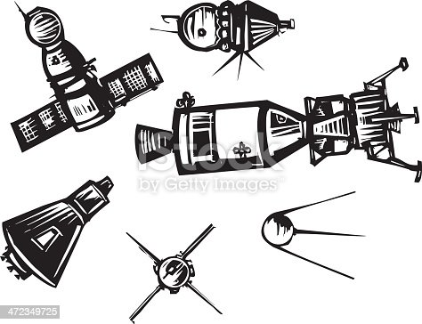 istock Historical Spaceships 472349725