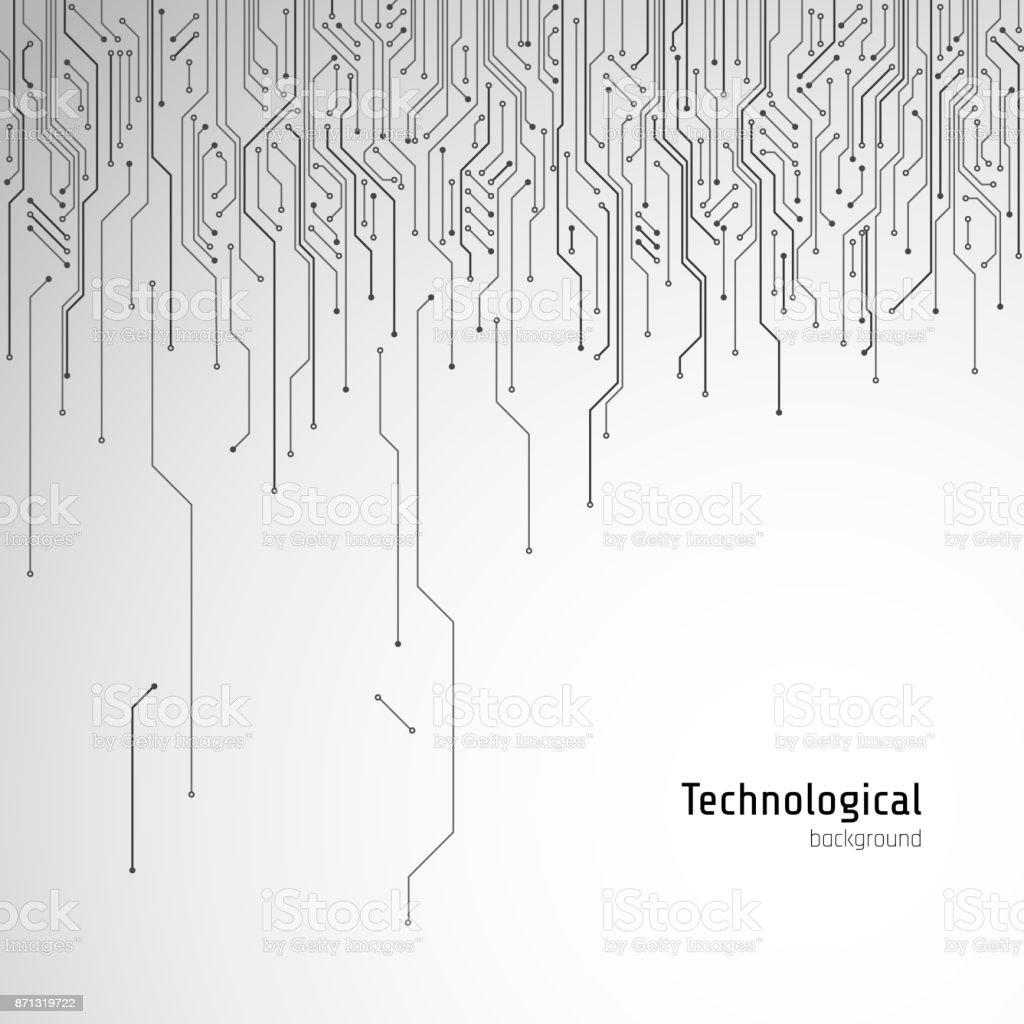 Hitech Circuit Board Vector Background Stock Vector Art & More ...