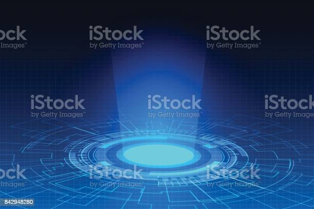 Hitech technology abstract blue digital background vector id842948280?b=1&k=6&m=842948280&s=612x612&h=qpympwjrmna4cx wakcw3rr7wybwrkmyj5 skuchv5c=