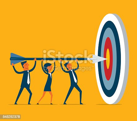 istock Hitting the target 545252378