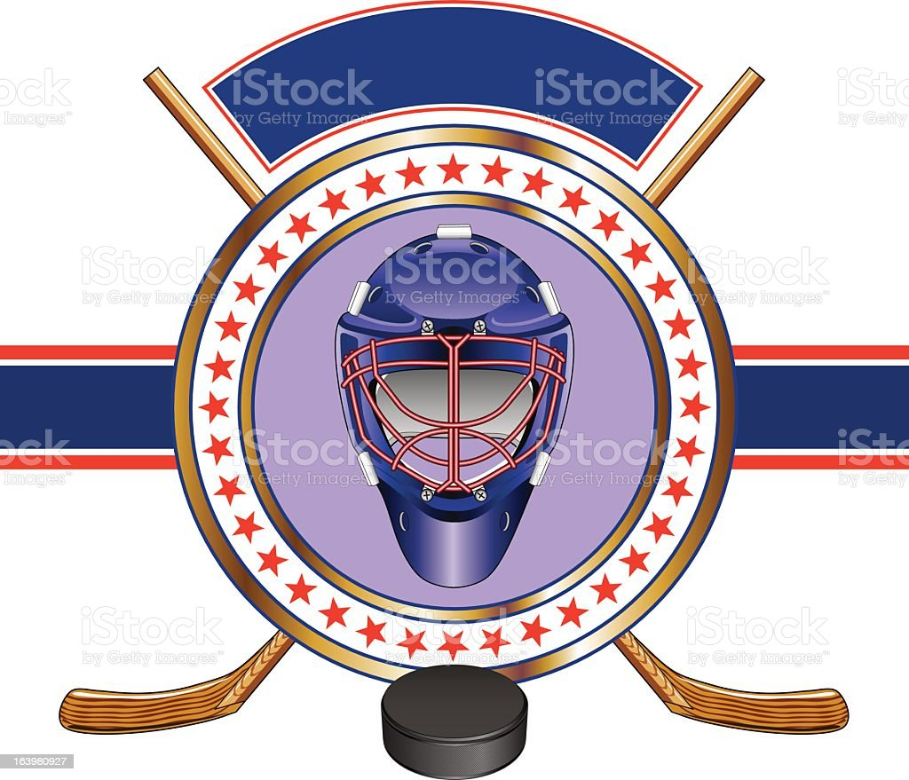 Hockey Design Template Banner royalty-free hockey design template banner stock vector art & more images of activity