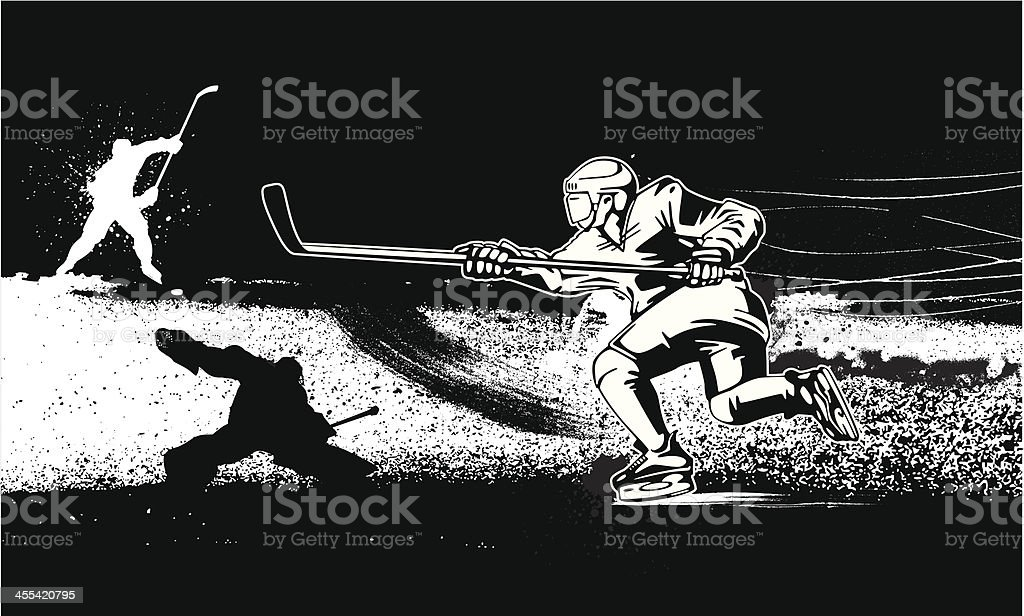 Hockey Design royalty-free hockey design stock vector art & more images of athlete
