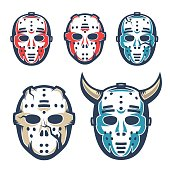 Hockey goalie mask