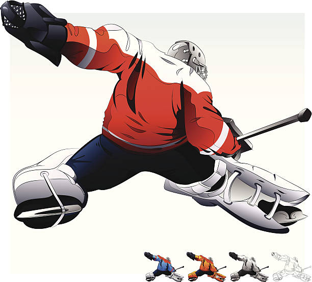 Royalty Free Goalie Clip Art, Vector Images & Illustrations - iStock