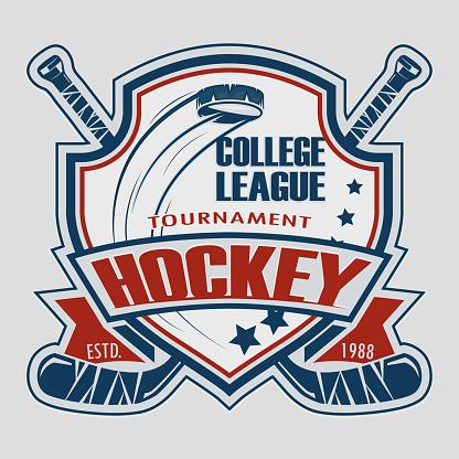 Hockey helmet sticks