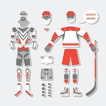 Hockey Jersey set 2